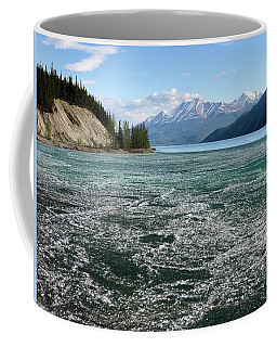 Muncho Lake And The Alaskan Highway Coffee Mug