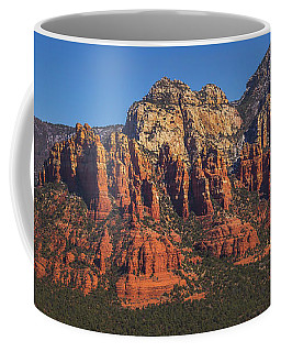 Coffee Mug featuring the photograph Munds Mountain Panorama by Andy Konieczny