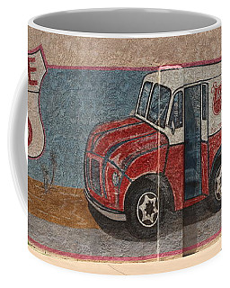 Mural On Historic Route 66 Coffee Mug