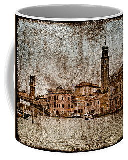 Coffee Mug featuring the photograph Murano, Italy - Canale Degli Angeli by Mark Forte