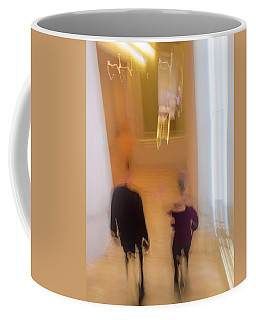 Coffee Mug featuring the photograph Museum Day by Alex Lapidus