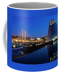 Museum Of Glass At Blue Hour Coffee Mug