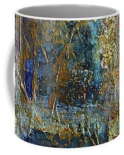 Coffee Mug featuring the painting Museum Specimen by Rita Brown