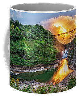 Mushroom Cloud Over Upper Falls Coffee Mug
