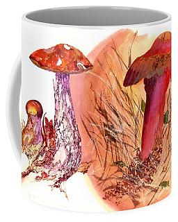 Mushroom Family Coffee Mug