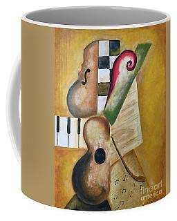 Music Abstract  Coffee Mug