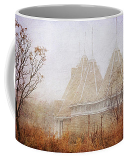 Coffee Mug featuring the photograph Music And Fog by Heidi Hermes