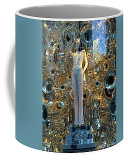 Coffee Mug featuring the photograph Music by Beth Saffer