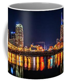 Music City Skyline Coffee Mug