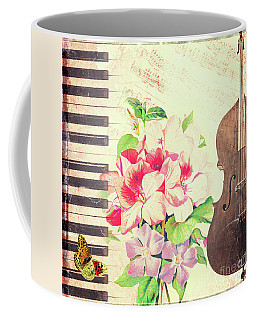 Music Coffee Mug by Delphimages Photo Creations