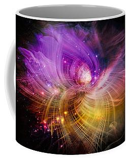 Coffee Mug featuring the digital art Music From Heaven by Carolyn Marshall
