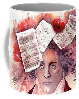 Beethoven - Music On My Mind  Coffee Mug