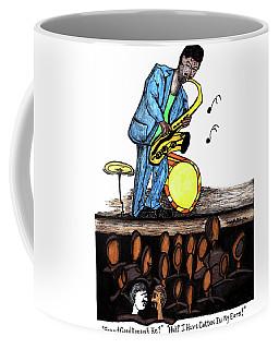 Music Man Cartoon Coffee Mug