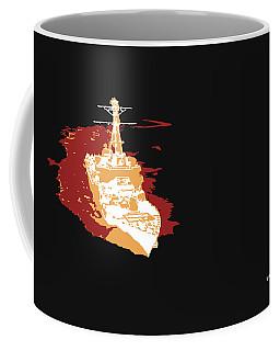Coffee Mug featuring the digital art Music Notes 11 by David Bridburg
