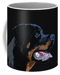 Coffee Mug featuring the digital art Music Notes 34 by David Bridburg