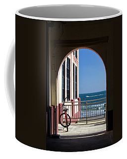 Music Pier Doorway View Coffee Mug
