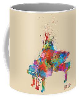 Music Strikes Fire From The Heart Coffee Mug