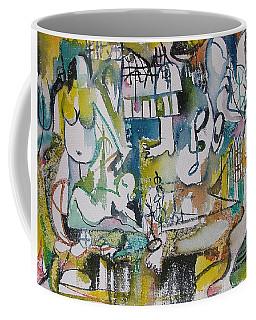 Musical Abstraction  Coffee Mug by Rita Fetisov
