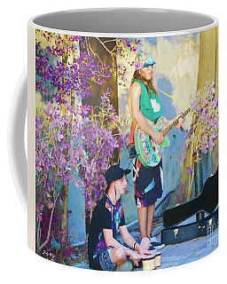 Coffee Mug featuring the painting Musical Serenede by Judy Kay