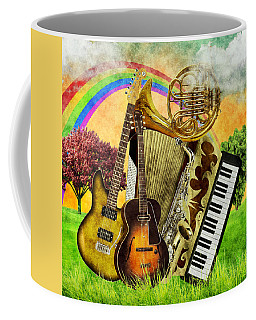 Musical Wonderland Coffee Mug by Ally White