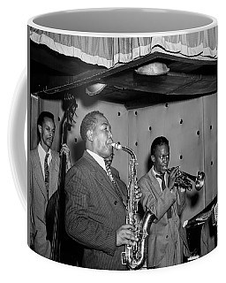 Music's Golden Era - Charlie Parker And Miles Davis 1947 Coffee Mug