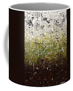Coffee Mug featuring the painting Musing by Carmen Guedez