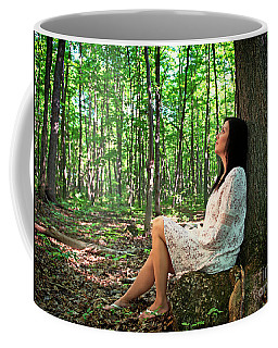 Coffee Mug featuring the photograph Musing.. by Nina Stavlund