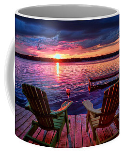 Muskoka Chair Sunset Coffee Mug
