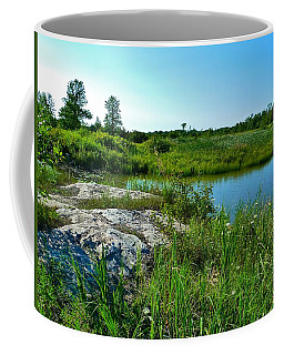Coffee Mug featuring the photograph Muskoka Ontario 4 by Claire Bull