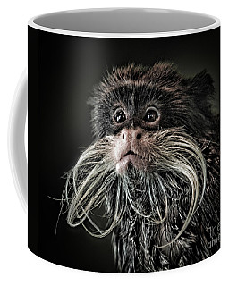 Mustache Monkey IIi Altered Coffee Mug