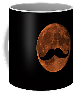 Mustache Moon Coffee Mug