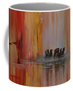 Mustang Canyon Coffee Mug by Karen Kennedy Chatham