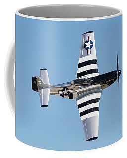 Mustang Photo Pass - 2017 Christopher Buff, Www.aviationbuff.com Coffee Mug