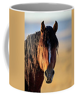 Mustang Portrait Coffee Mug