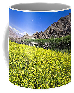 Mustard Field, Hemis, 2007 Coffee Mug