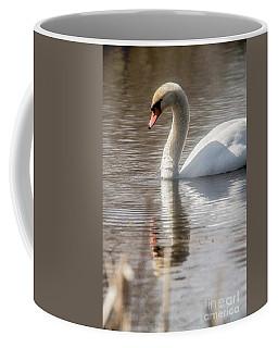 Coffee Mug featuring the photograph Mute Swan - 2 by David Bearden