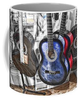 Muted Guitars Coffee Mug