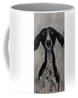 Mutts Original Dog Portrait Painting Coffee Mug