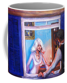 Intimate Conversation Coffee Mug