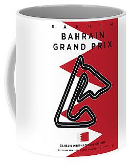 My 2017 Bahrain Grand Prix Minimal Poster Coffee Mug