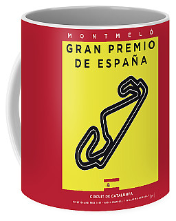 My 2017 Gran Premio De Espana Minimal Poster Coffee Mug