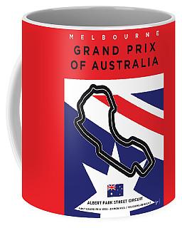 My 2017 Grand Prix Of Australia Minimal Poster Coffee Mug