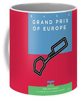 My 2017 Grand Prix Of Europe Minimal Poster Coffee Mug