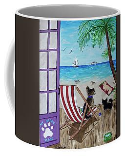 My 3 And The Sea Coffee Mug