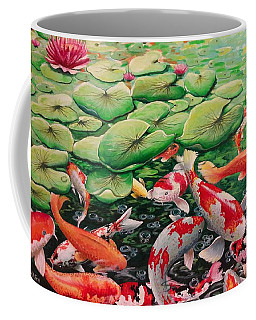 My Backyard Pond Coffee Mug