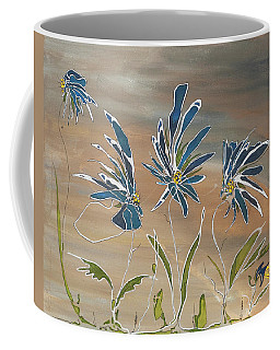 My Blue Garden Coffee Mug by Pat Purdy