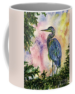 My Blue Heron Coffee Mug