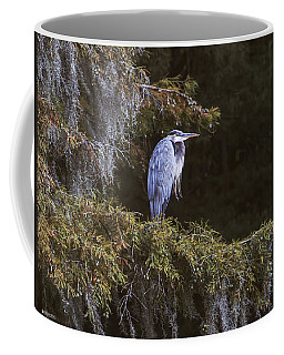 My Blue Heron Coffee Mug