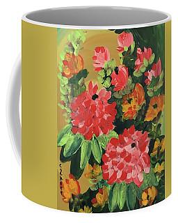 My Brush Sings In The Garden Coffee Mug