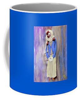 Coffee Mug featuring the painting My Bubba by Deborah Boyd
